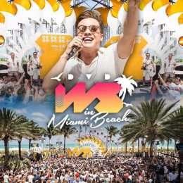 Wesley Safadão grava DVD em Miami Beach e exibe novo visual