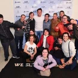 Em SP, Wesley Safadão conhece projeto que trabalha a sociabilização de jovens e adultos com deficiência intelectual