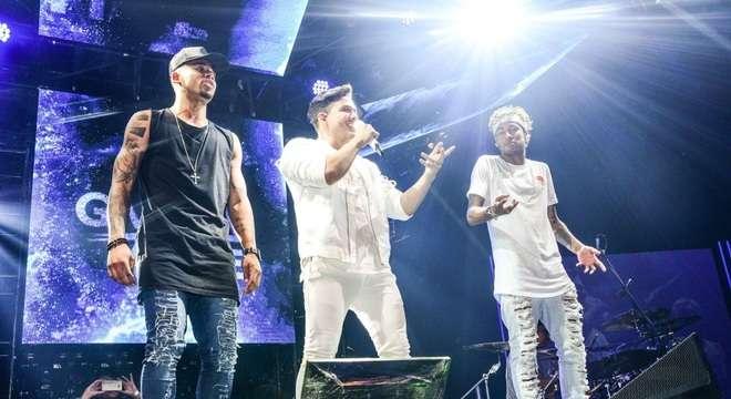 Wesley Safadão, Neymar e Gabriel de Jesus