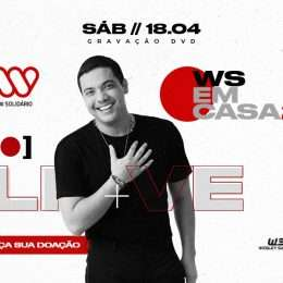 Wesley Safadão anuncia live com gravação de DVD e ação solidária; veja
