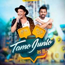 Live Tamo Junto tem 15 faixas liberadas no Sua Música; ouça agora