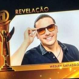 Wesley Safadão vence como Artista Revelação no 'Troféu Imprensa'
